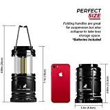 MalloMe-LED-Camping-Lantern-Flashlights-4-Pack-SUPER-BRIGHT-350-Lumen-Portable-Outdoor-Lights-with-12-High-Power-Best-Alkaline-AA-Batteries