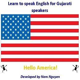 Amazon com: Learn to Speak English for Gujarati Speakers eBook: Nam
