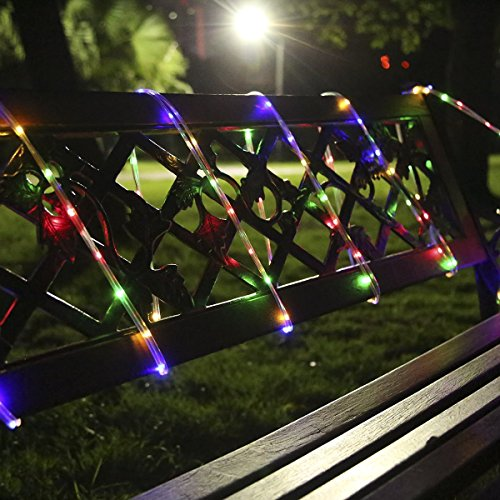 Ofun Rope Lights Outdoor Battery Operated String Lights