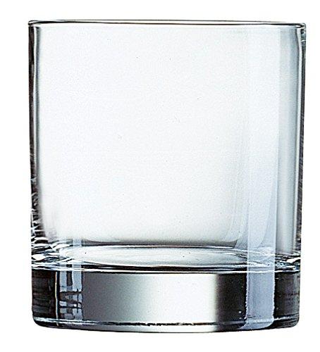 Arcoroc Islande FB20 Whisky 200ml, ohne Füllstrich, 6 Stück