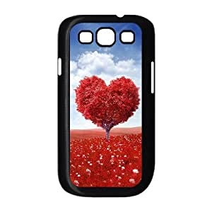 Love Tree Samsung Galaxy S3 9300 Cell Phone Case Black Vohc