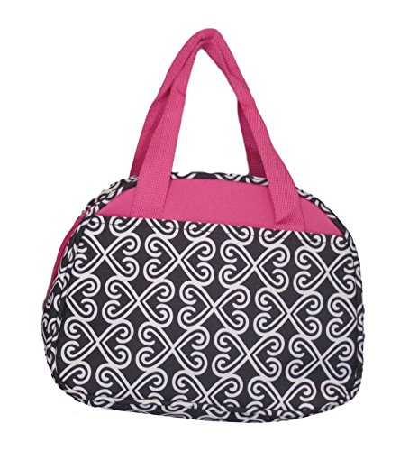 Fashion Print Insulated Water Resistant Round Small Lunch Co