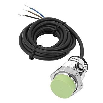 Interruptor del sensor de proximidad inductivos de 15 mm, NPN NO Interruptor del sensor de