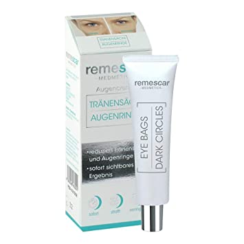 Remescar - Crema antibolsas y ojeras, 8 ml: Amazon.es: Salud ...