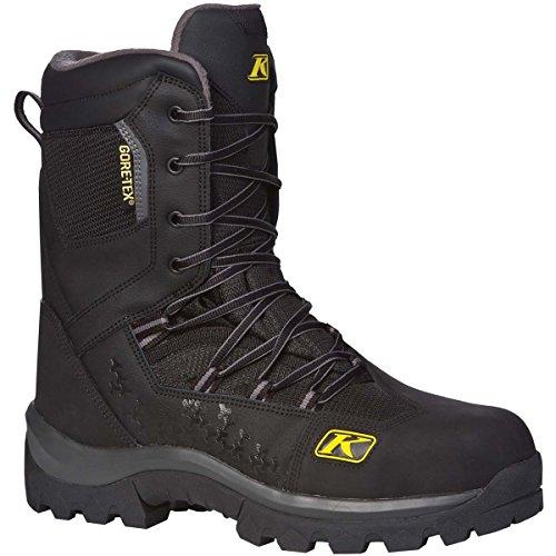 Klim Adrenaline GTX Men's Snocross Snowmobile Boots - Black / Size 9