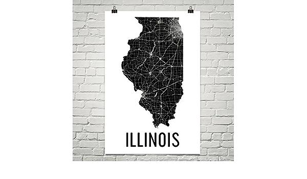 Wall Art Wall Art Decor Moline Illinois Map Moline Map Print City Map Wall Art Moline Map Print Travel Poster