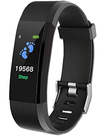 84aa10b25 Sunnystark Fitness Watch(Black),Smart Watch for Kids&Boys,Sleep  Tracker,Pedometer