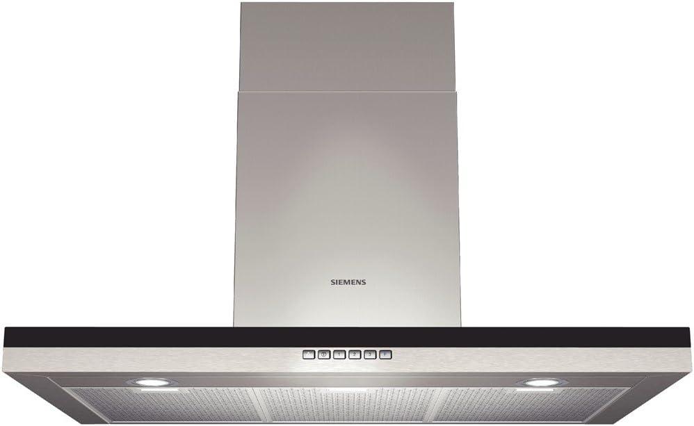 Siemens LC96BB530 - Campana (Canalizado/Recirculación, 450 m³/h, 54 Db, Montado en pared, Halógeno, Acero inoxidable): Amazon.es: Hogar