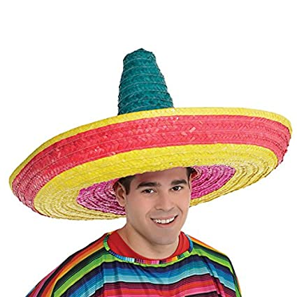 54797aad436be Amscan Sombrero Grande Mexicano  Amazon.com.mx  Juegos y juguetes