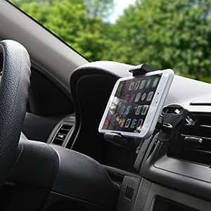 BoxWave EZView BlackBerry Storm 2 9550 coche Universal - Soporte de Coche para respiradero mayor Smartphones - Galaxy s5/s4, iPhone 5S/5, Nota 4, Nota 3, HTC One, Nexus y más!