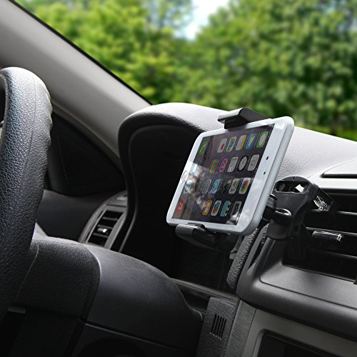 Price comparison product image BoxWave EZView Car Mount Gigabyte GSmart G1317 Rola Car Mount - Universal Car Vent Mount Smartphone Cradle Fits All Major Smartphones - Galaxy s5 / s4, iPhone 5s/5, Note 4, Note 3, HTC One, Nexus and More!