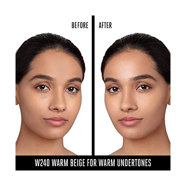 Lakmé 9To5 Primer + Matte Perfect Cover Foundation, W240 Warm Beige, 25 ml 2021 August Built-in primer + matte foundation with spf 20 Natural, flawless finish Shades that suit 100 percent Indian skin tones