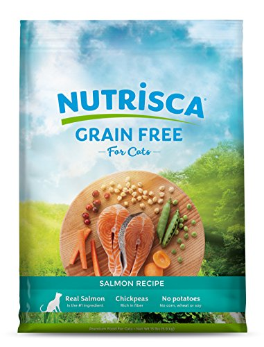 Nutrisca Grain Free Cat Food, Salmon Flavor, 13 Pound