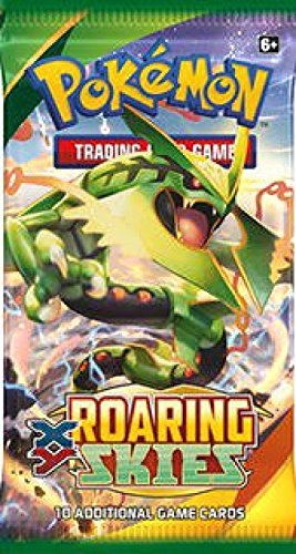Amazon.com: Pokemon X & Y Roaring Skies Booster Pack: Toys ...