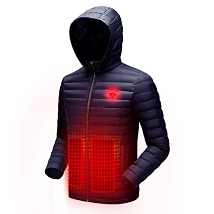 Heating Clothes Amazon Com >> Amazon Com Dzx Heating Jacket Electric Warm Clothes With Usb