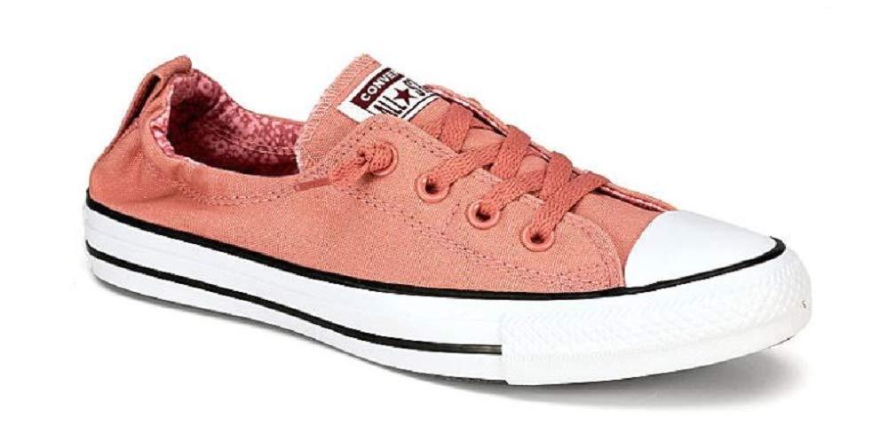 Converse Women's Chuck Taylor All Star Shoreline Slip Rust Pink/White/Black Slip-On Shoe 6.5 Women US