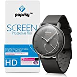 Withings Activite Pop Screen Protector [Explosion-proof Glass][2 Pieces], Popsky High Definition Ultra Thin Anti-Scratch Full Coverage Film for Withings Activite Pop Smart Watch