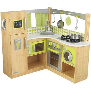 Amazon.com: Little Tikes – Cocina de madera Deluxe y centro ...