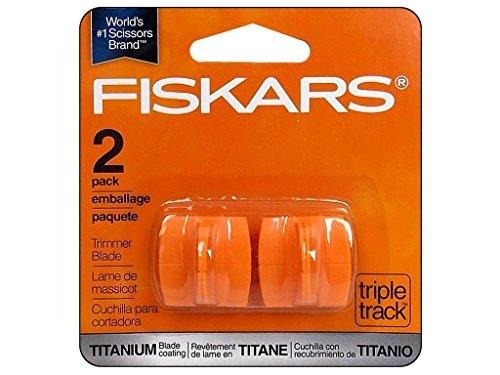 Fiskars Trim Blade Style I Triple Track Titan 2pc/pack Sold as Bundle 2pack(4units)