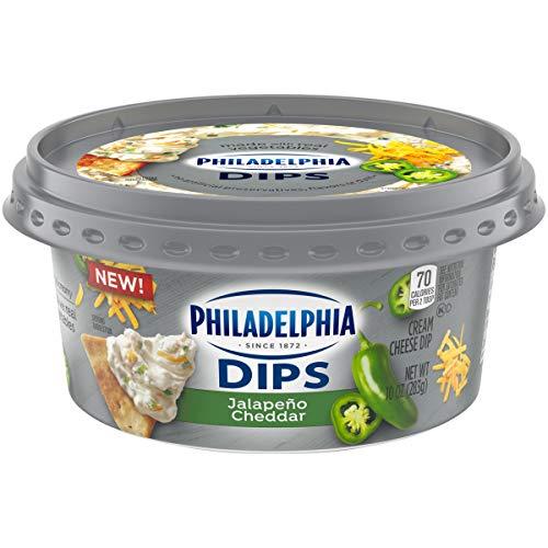 Philadelphia Dips Jalapeno Cheddar Cream Cheese Dip, 10 oz Tub