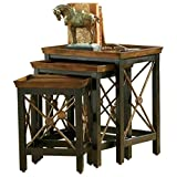 Hooker Furniture Seven Seas Nest of Three Tables w/Medallion Motif Review