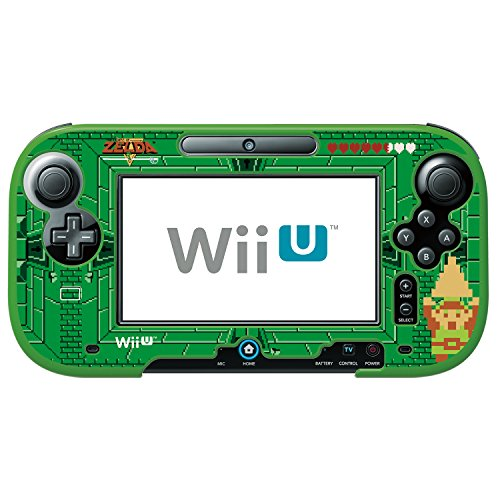 HORI The Legend of Zelda Retro Protector for Wii U GamePad Officially Licensed by Nintendo by Hori