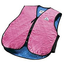 HyperKewl Cooling Sport Vest - Enhance your performance in the Heat! - -PINK-LRG