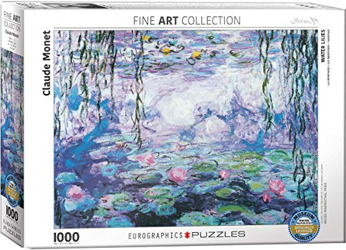 EuroGraphics Waterlilies by Claude Monet 1000 Piece Puzzle ()