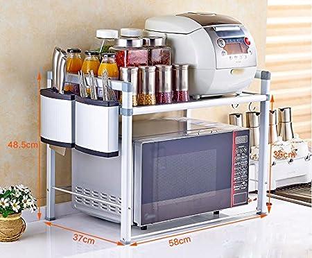 ZWS@ Multi-función de rack de cocina / horno de microondas ...