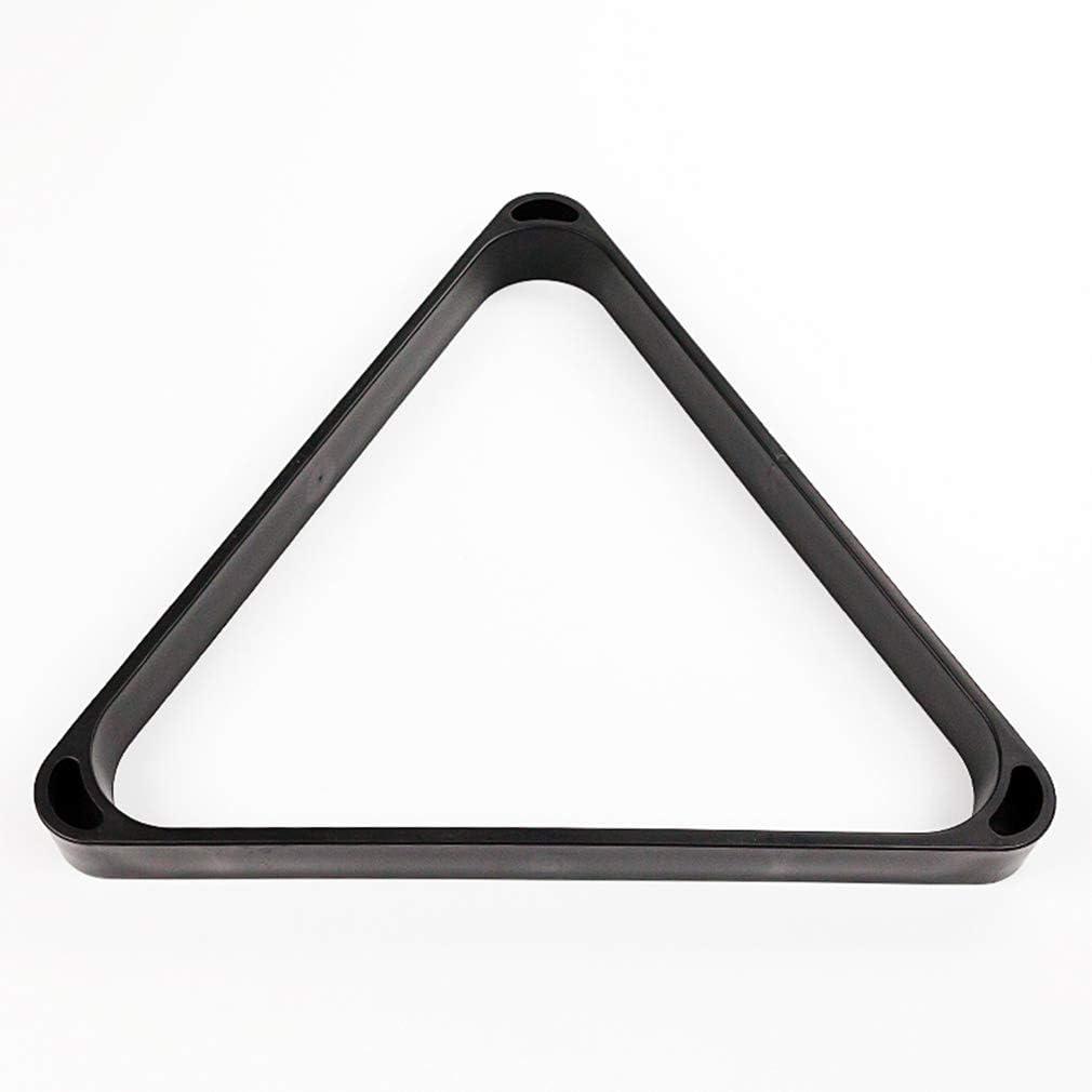 AND Accesorios de Mesa de Billar Marco Negro Triángulo de plástico ...