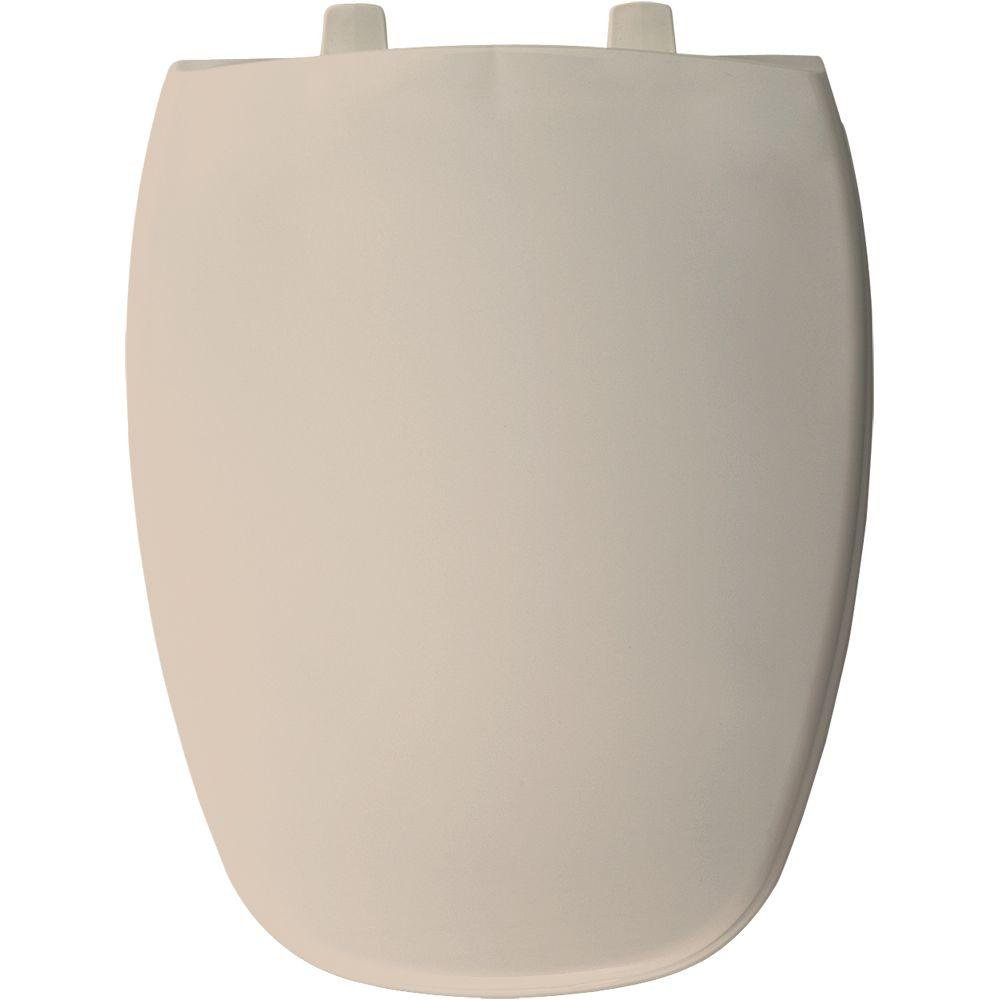 Bemis 1240205 213 Plastic Elongated Toilet Seat, White