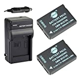 DSTE® 2x DMW-BCG10E Battery + DC57 Travel and Car Charger Adapter for Panasonic Lumix DMC-ZS10 ZS15 ZS19 ZS20 ZS25 ZX3 TZ8 TZ10 TZ18 TZ19 TZ20 TZ25 ZR1 ZR3 Camera