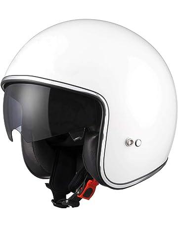 cc821238 Leopard LEO-601 Open Face Helmet Scooter Motorbike Motorcycle Crash Helmet