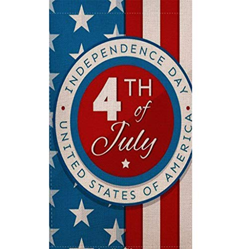 4th of July Decorations 5D Diamond Painting Full Drill Happy 4th July Stars and Stripes Cross Stitch Embroidery Independce Day Arts Craft with Diamond and Tools for Home Wall Decor 12