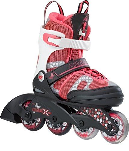 K2 Skate Charm X Pro Children Inline Skates, Size 4-8,...