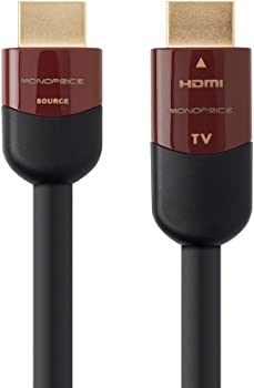 2-Pack Monoprice 60ft Cabernet Ultra Series Active High Speed HDMI Cable