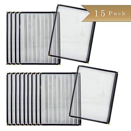 Set of 15 - TrueCraftware Restaurant Menu Covers - 11