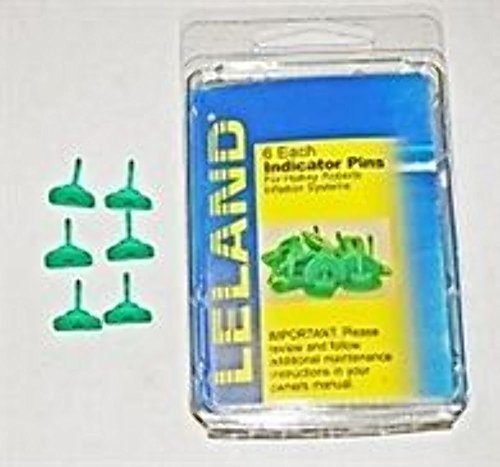 Life Indicators - Green Indicator Pins for Inflatable Life Jackets / PFDs