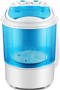XFY Portable Clothes Washer, Washing Machine Small Elution Semi-Automatic, Mini Washing Machine for Compact Laundry, for Camping/Outdoors