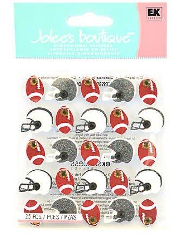 - EK Success Jolee's Boutique Stickers (Football and Helmets Repeats) 2 pcs sku# 1847906MA