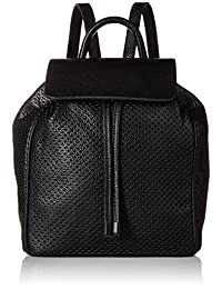Steve Madden Women's Jayden Backpack Shoulder Bag, Black, One Size