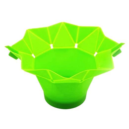 Cuenco de palomitas de maíz de microondas (silicona, sin BPA ...