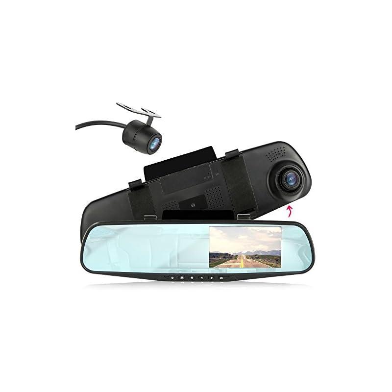 Pyle Backup Dash Cam Car Recorder DVR Fr
