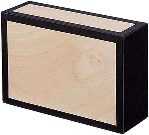 Bright Neon Colors Neon Orange w//Black Tape Henrys Juggling Wooden Cigar Box
