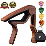 Capo Guitar Capo-Quick Change Trigger Capo for 6-String Acoustic & Electric Guita and Ukulele