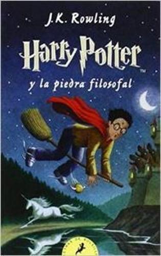 Cover: J.K. Rowling Harry Potter y la piedra filosofal