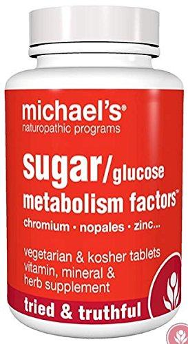 Michaels Glucose (Michael's Naturopathic, Sugar / Glucose Metabolism Factors, 180 Veggie)