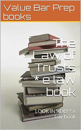 Pdf Law The Law of Trusts: Law school / Exams