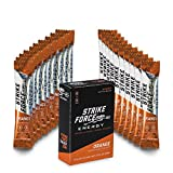 Strike Force Energy 10 Ct Boxes - Orange - Liquid Energy Drink Mix - Portable Packets