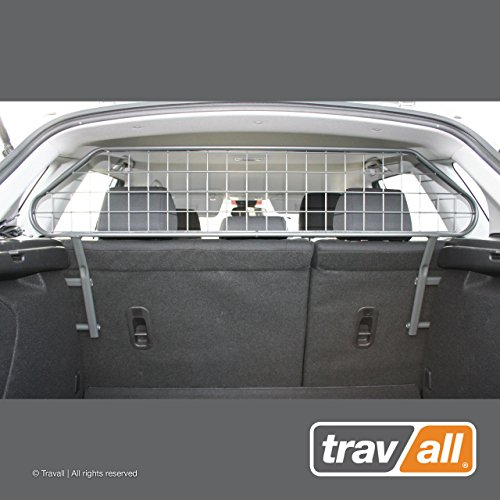 Travall Guard Compatible with Mazda3 Hatchback 2003-2008 TDG1241 – Rattle-Free Steel Pet Barrier